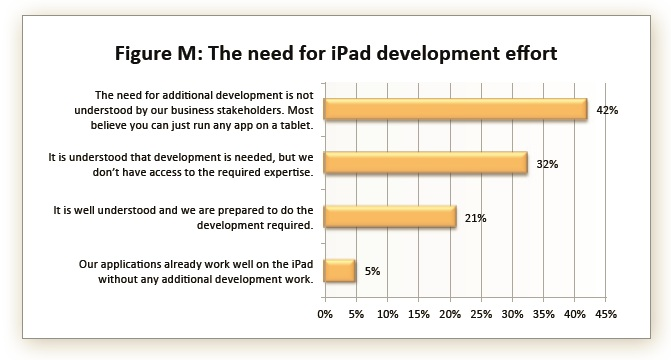 The need for iPad development and resources